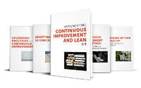 Continuous Improvement and Lean kit how-to