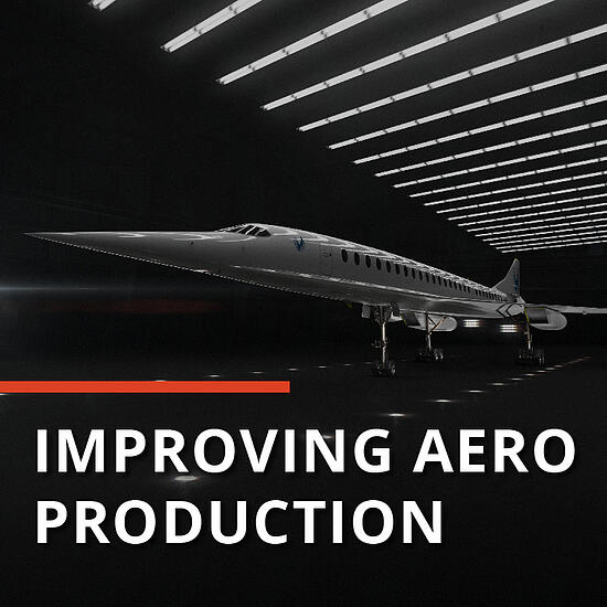 Boom Supersonic aerospace production Dozuki