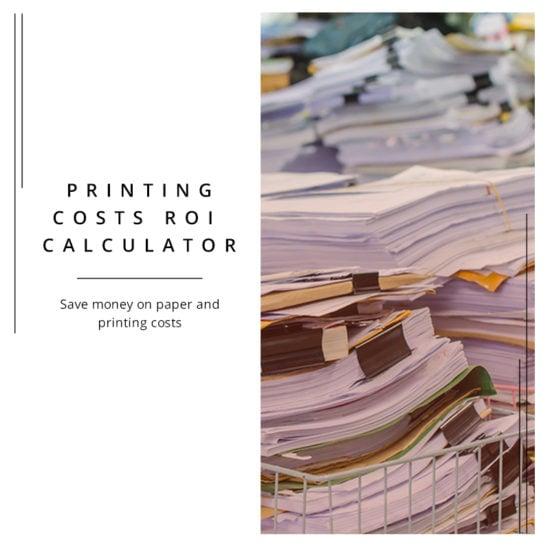 Printing Costs Calculator