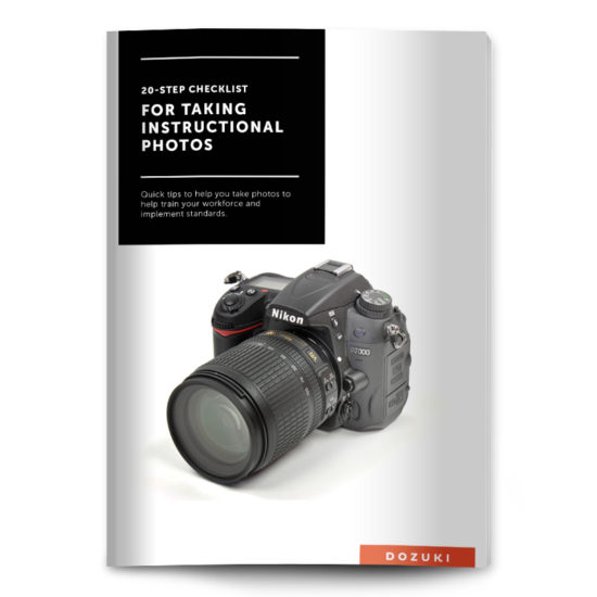 Checklist for Taking Instructional Photos