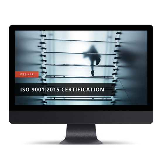 Achieving ISO 9001:2015 Certification