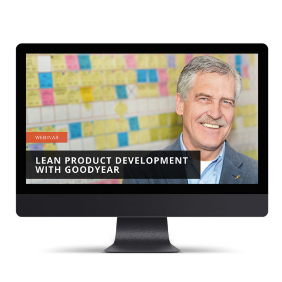 Lean Product Development with Goodyear