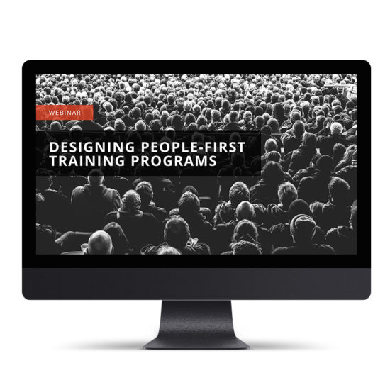 Designing People-First Training Programs