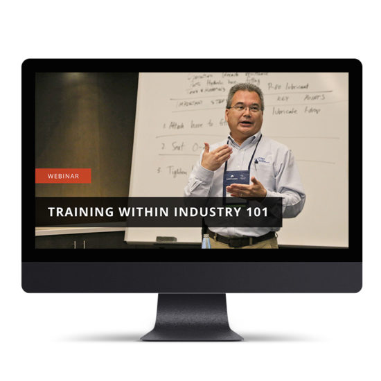 Training Within Industry 101
