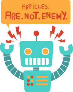 Articles are not the enemy