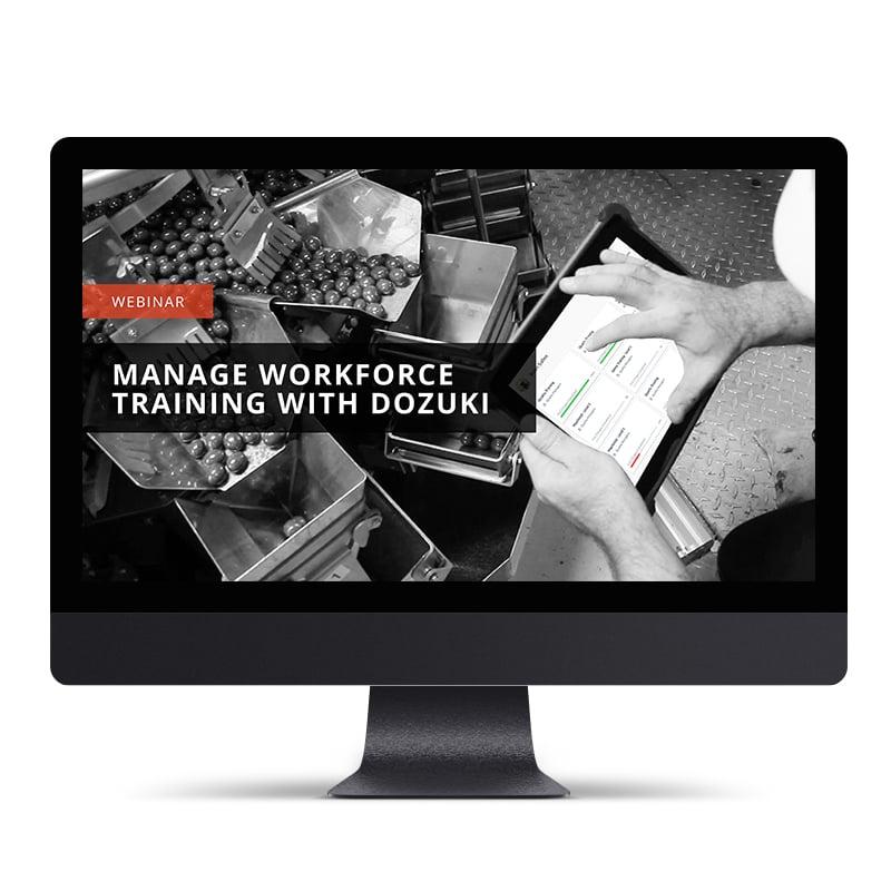 Manage Manufacturing Workforce Training With Dozuki