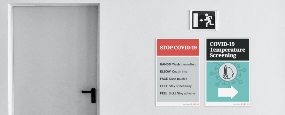 Free COVID-19 Workplace Signage - Dozuki Blog